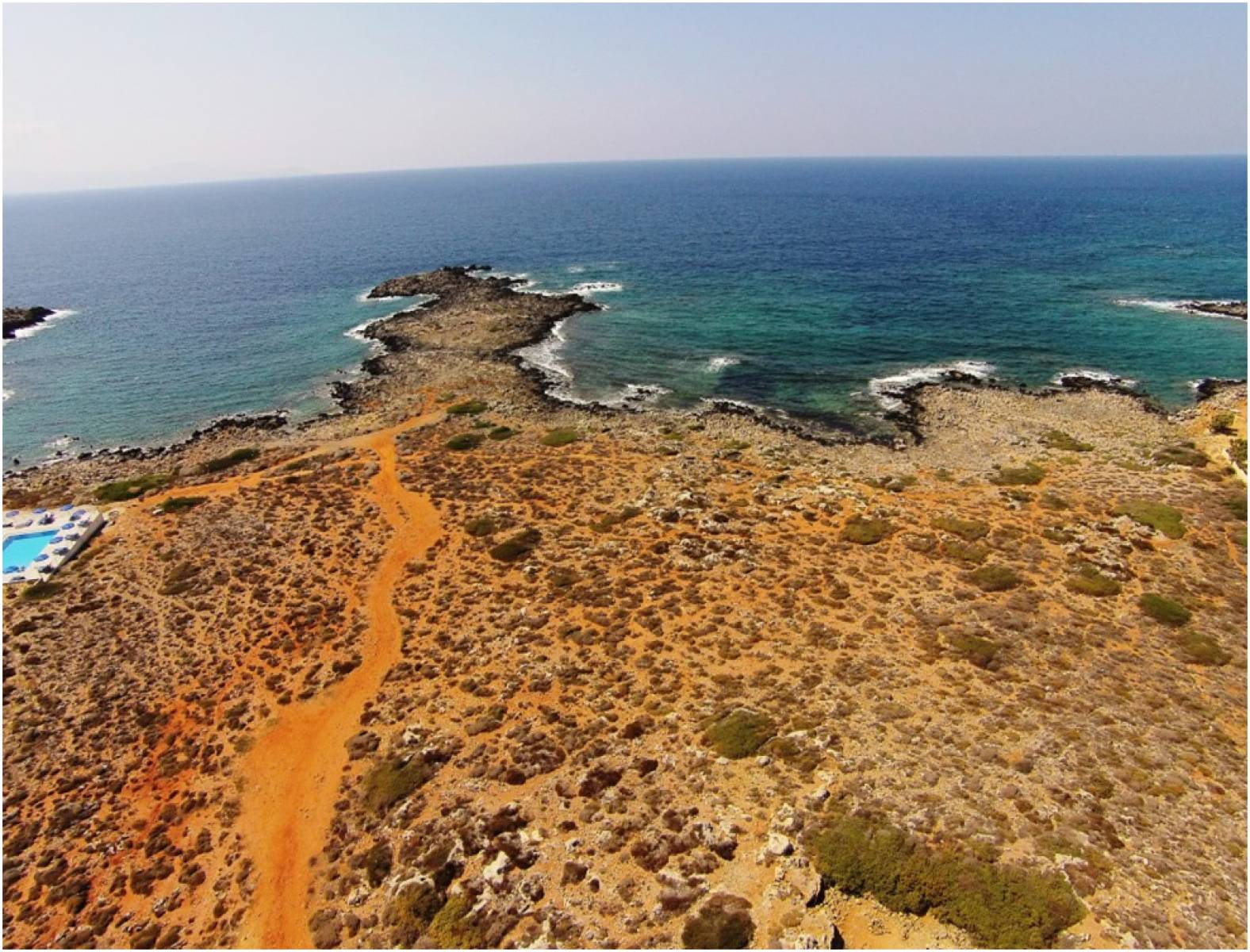 Sea Front Plot in Stavros Chania