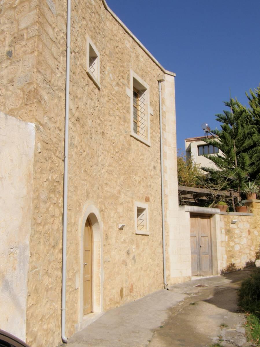 Maroulas renovated stone house