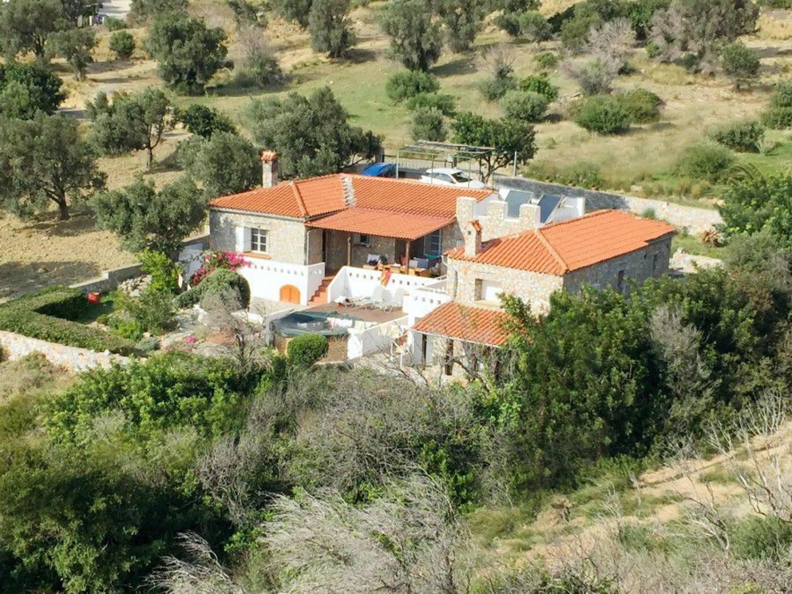 Stone villa with beautiful views