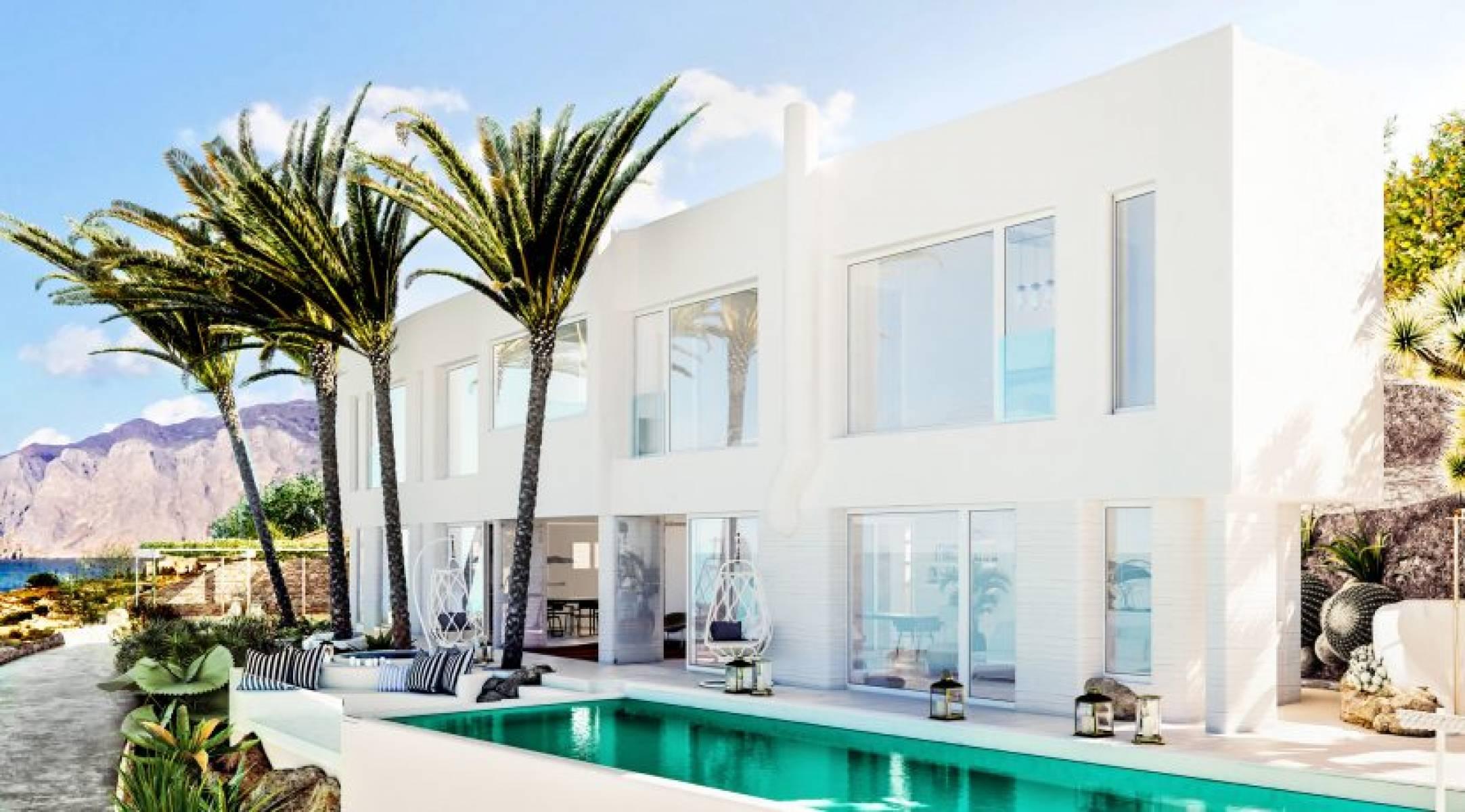 Luxury villa with views of Mirabello bay