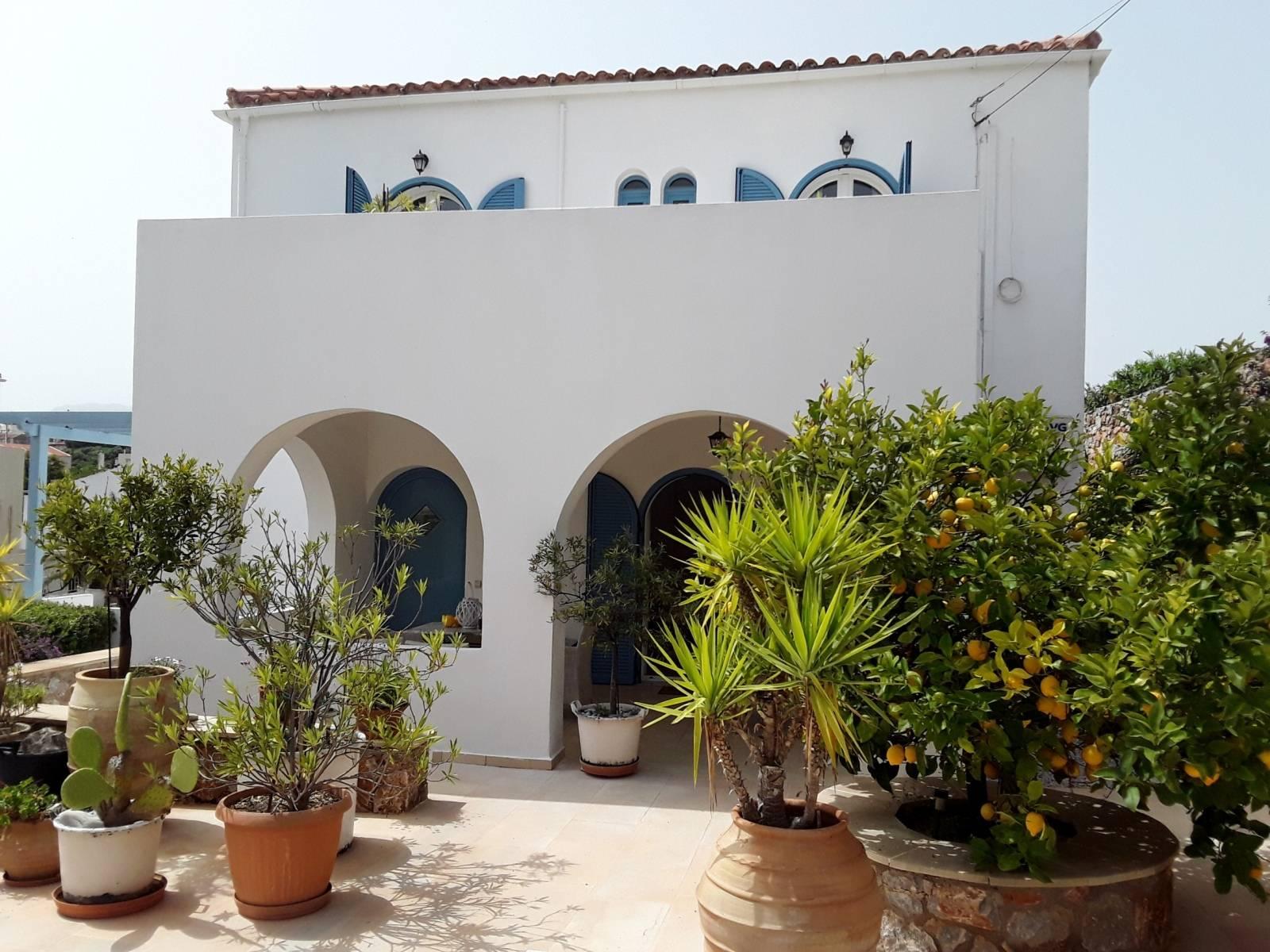 Kefalas sea view villa