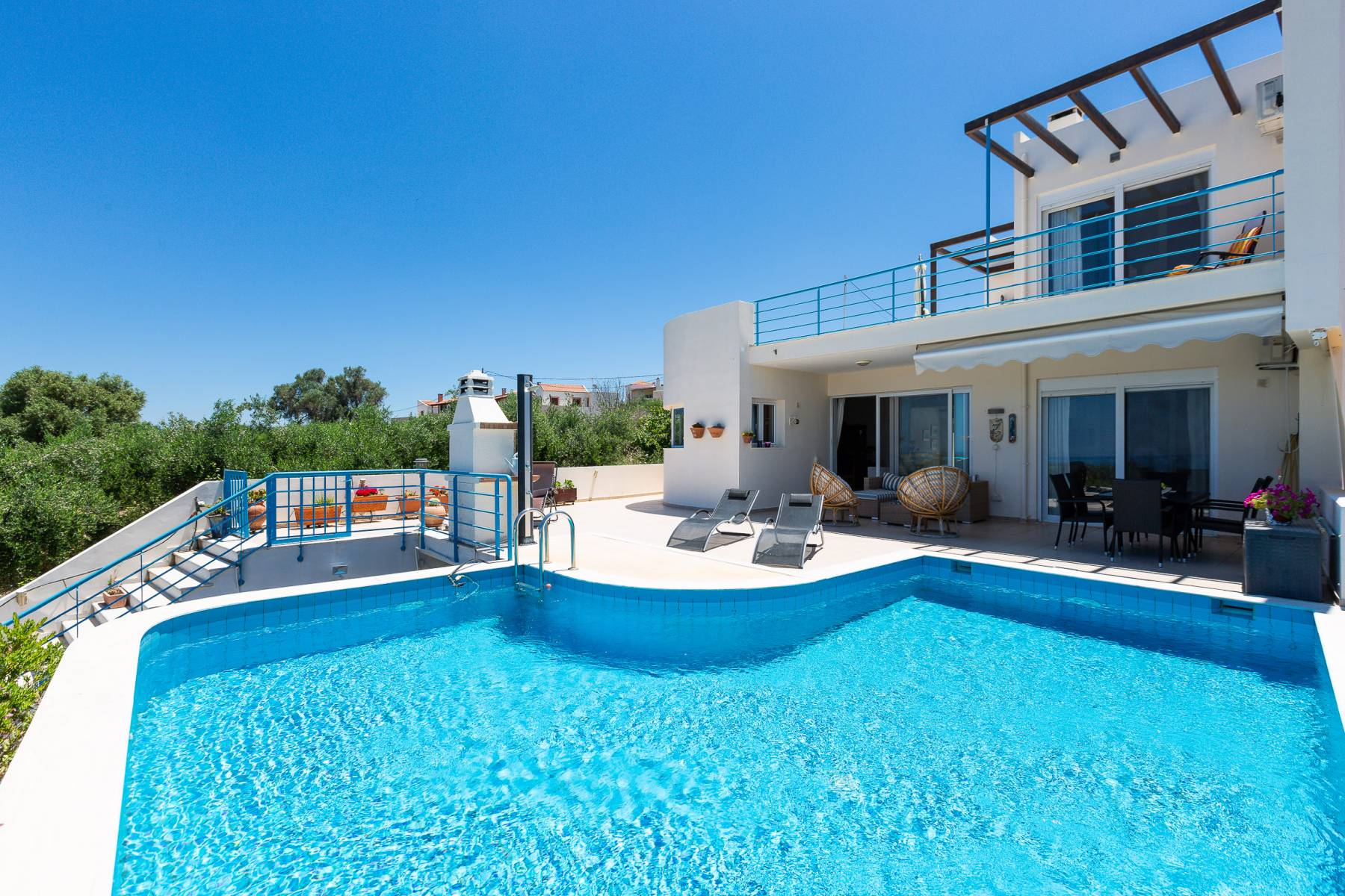 Agios Dimitrios villa with private pool