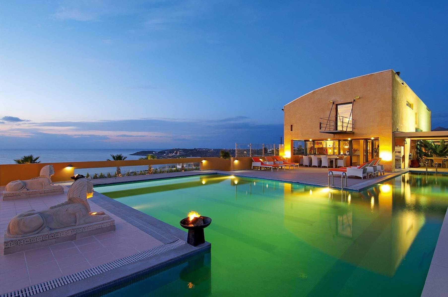 Luxury villa in Chania Crete for sale