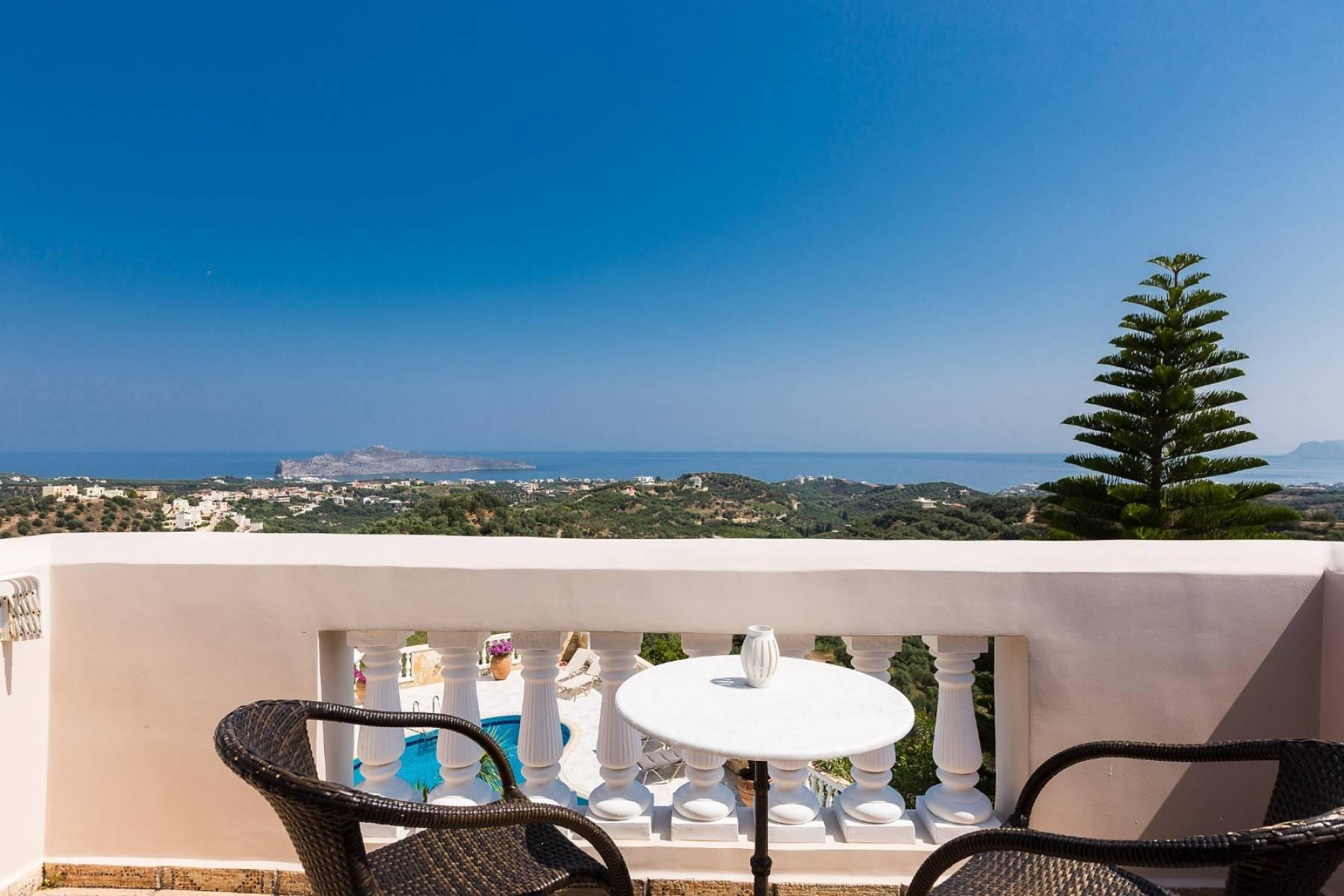 Spacious villa with unique view