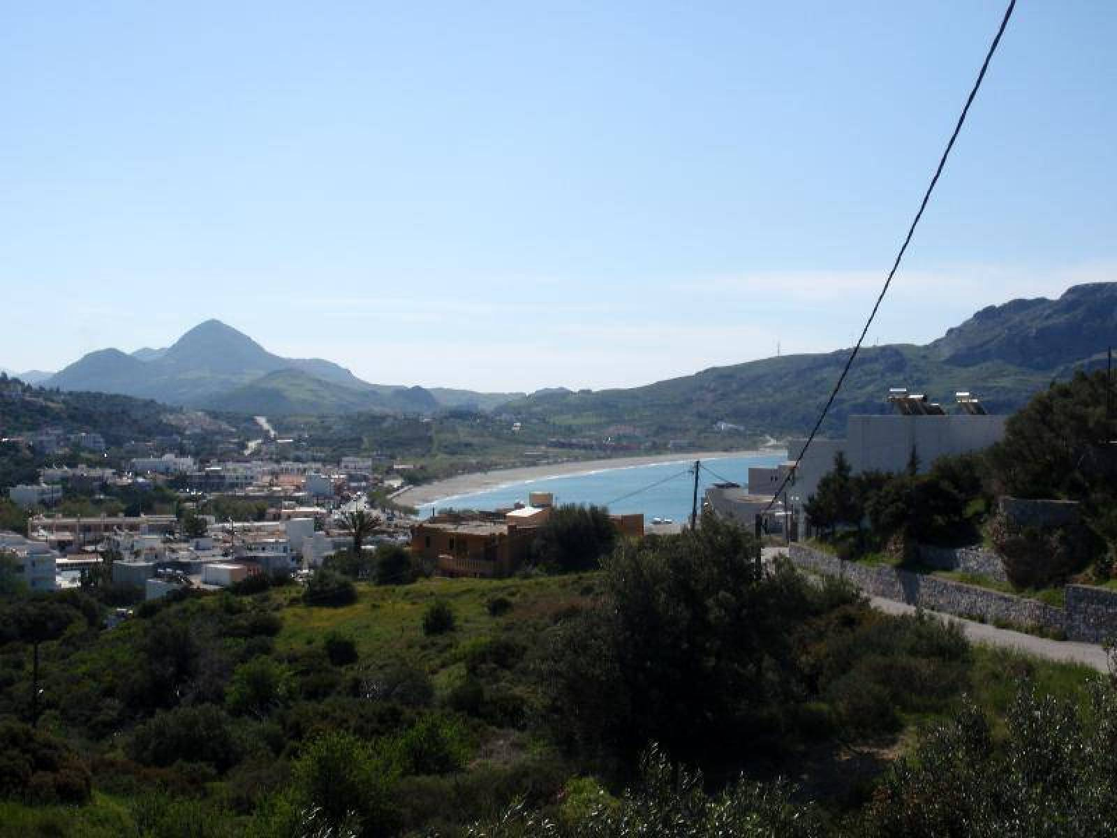 Plot close to the beach in Plakias