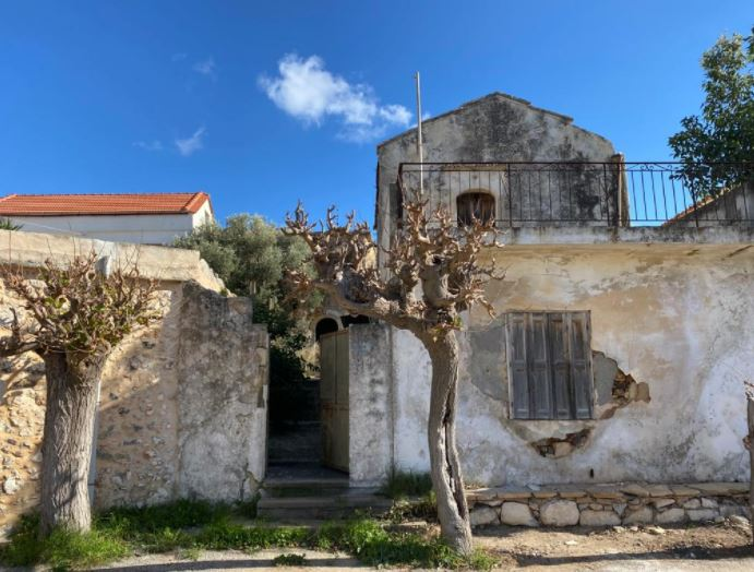 Two Old Houses for Renovation